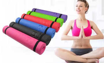 £6.99 instead of £16 (from Daniel James) for a large PVC yoga mat - save 56%