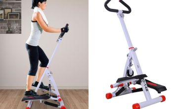£58 instead of £113 (from MHstar) for a steel foldable stepper - save 49%