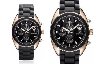 From £139 instead of £214.50 (from Hip Watches) for an Emporio Armani AR5954 men's watch - save up to 35%