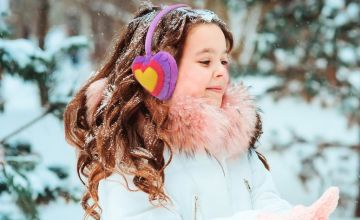 £4.99 (from Pearl Fashion) for a heart shaped winter ear muffs