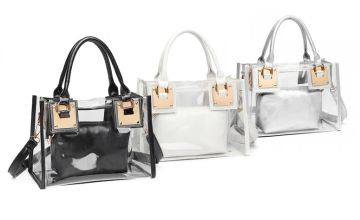 £9.99 instead of £39.99 (from Miss Lulu) for a Perspex bag with colour options - save 67.76%