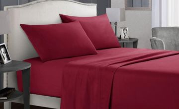 From £13.99 instead of £59.99 (from Wish Imports) for a single premium brushed bed sheet set - choose your size and colour and save up to 75%