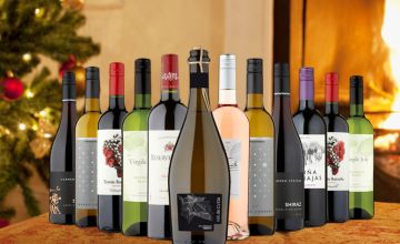 £49 instead of £116.88 (from Naked Wines) for a 12-bottle Christmas wine hamper - save 58%