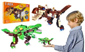 £7.99 instead of £26.99 (from Avant Garde) for a dinosaur building bricks toy set - save 70%