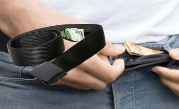 £5.99 instead of £19.99 (from The Electronic Store) for a secret money travel belt - save 70%