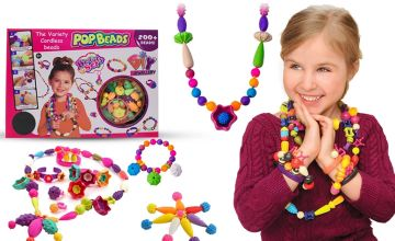 £9.99 instead of £22.99 (from Avant Garde) for a pop beads DIY jewellery set - save 57%