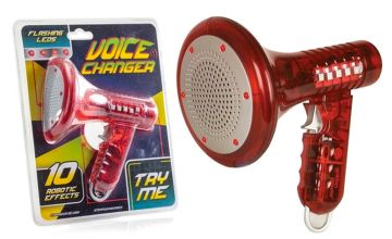 £12.99 instead of £24.99 (from Avant Garde) for a Tobar voice changer megaphone - save 48%