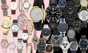£10 (from Brand Arena) for a mystery watch deal for him or her - Tag Heuer, Gucci, Armani, Hugo Boss, Calvin Klein, Kahuna, Beverly Hills & More!