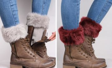£4.99 instead of £19.99 (from Domo Secret) for one pack of faux fur boot toppers or £9.99 for three packs of faux fur boot toppers - save up to 75%
