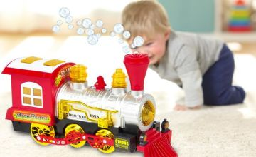 £12 instead of £49.99 (from CN Direct Biz) for a bubble blowing toy train - save 76%