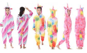 £12.99 instead of £49.99 (from Mybrandlogic) for a girl's winter unicorn fleece onesie – save 74%