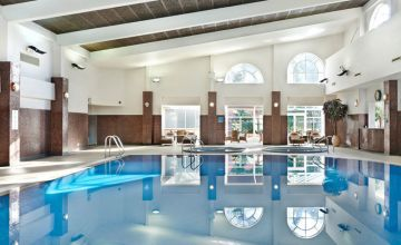 £79 instead of £139.50 for a full spa day for one person including a 'fire and ice' experience, two 25-minute treatments and an afternoon tea, or £149 for two people at The Belfry, Sutton Coldfield - save up to 43%