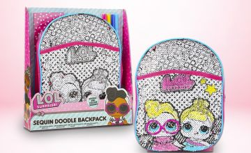 £5.99 instead of £19.99 (from Vivo Mounts) for a LOL surprise sequin doodle backpack - save 70%