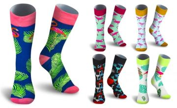 £2.99 (from Avant Garde) for a pair of men's casual printed socks