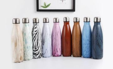 £6.99 instead of £39.99 (from Blu Fish) for a Frosty Bottle double wall vacuum insulated bottle - save 83%