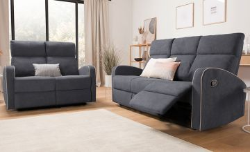 £699 instead of £1070  (from Dreams Outdoors) for a 3+2 Boston recliner sofa set or £799 instead of £1270 for a 3+2+1 Boston recliner sofa set - save 35%
