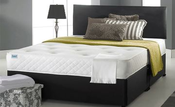 From £99 instead of £399 (from Komfet) for a faux leather ortho divan bed with mattress and optional drawers - choose from six sizes and save up to 75%