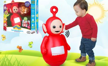 £12.99 instead of £35 (from Bladez Toyz) for an inflatable Teletubbies night light – choose between Dipsy and Po and save 63%