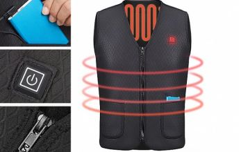 £19.99 instead of £99.99 (from Yello Goods) for an electric heating vest - save 80%