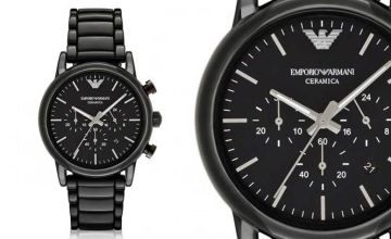 £119 instead of £402.01 (from Hip Watches) for a men's Emporio Armani AR1507 ceramic watch - save 70%