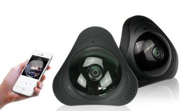 £29.99 (from ENER-J) for a 3D panoramic fisheye camera
