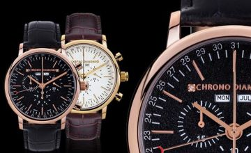 From £199 instead of £1731.93 (from Rotatio) for a Swiss-made chronograph watch - save 89%