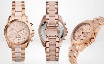 £125 instead of £279 (from Ticara Watches) for a Michael Kors MK6066 Bradshaw ladies chronograph watch - save 55%