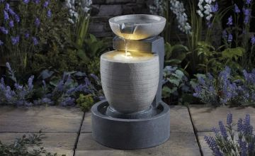 From £99 instead of £199.99 (from CJ Offers) for a Serenity garden water feature - choose from five designs and save up to 50%