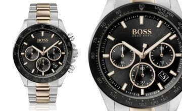 £129 instead of £396 (from Best Watch Company) for a Hugo Boss men's Hero Sport Lux two-tone watch - save 67%