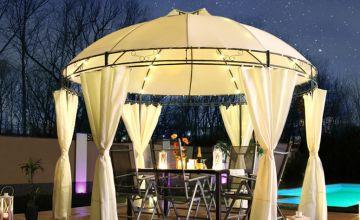£179 (from Eve Motion) for a Swing & Harmonie® luxury LED pavilion - choose from four colours