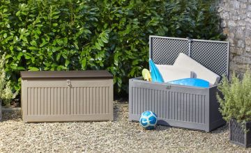 From £39.99 instead of £79.99 (from CJ Offers) for a lockable garden storage box - choose from three sizes and save up to 50%