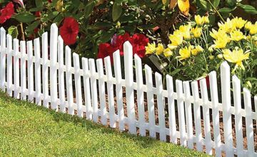 £8.99 instead of £19.99 (from Gift Gadget) for a pack of four picket fencing set, £13.99 for two packs of four, £17.99 for three packs of four, £22.99 for four packs of four and £25.99 for five packs of four – save up to 55%