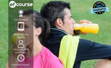 £12 instead of £79 for an online sports nutrition & exercise advisor course from OfCourse - save up to 85%