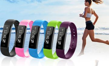 £9.99 instead of £69.99 (from Ugoagogo) for a VeryFit 14-in-1 wireless fitness tracker bracelet - choose from five colours and save 86%