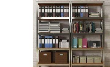 £18 instead of £140 (from Home Empire) for a five-tier heavy duty fortified shelving - save 87%