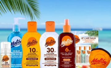 £12.99 instead of £26.44 (from Malibu) for a family holiday collection - get six sun skincare products and save 51%
