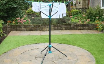 £12.99 instead of £39.99 (from Funky Buys) for a 16m portable rotary airer - save 74%