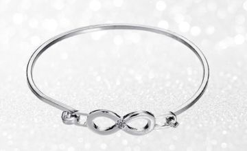 £4.99 instead of £49.99 (from Gemnations) for an infinity bracelet - save 90%