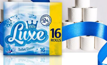 £17.99 for 45 Luxe toilet roll & 24 ultra kitchen rolls from Global Merchant Support  - save up to 74%