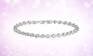 £12 instead of £196.01 (from Gemnations) for a bracelet made with crystals from Swarovski ® - save 94%
