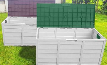 £29.99 instead of £95.99 (from Groundlevel) for an extra-large weatherproof garden storage box - choose from brown and green and save 69%