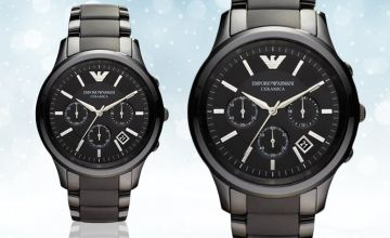 £119 instead of £449 (from Hip Watches) for a men's Emporio Armani AR1452 watch- save 73%