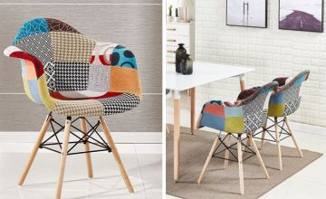 £39 instead of £80.01 (from Home Design International) for a patchwork armchair, or £79 for two patchwork armchairs, or £149 for four patchwork armchairs - save up to 51%