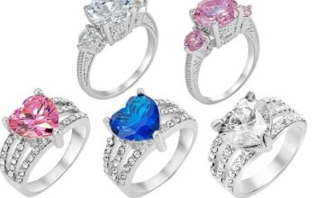 £7.99 instead of £49.99 for a crystal stud ring - choose from two designs and three colours from GameChanger Associates - save 84%