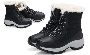 £14.99 instead of £59.99 (from My Blu Fish) for a pair of women's winter snow boots - save 75%