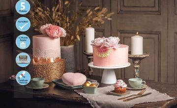 £9 instead of £99 for an online sophisticated baking and cake design course from Trendimi Ltd - save 91%