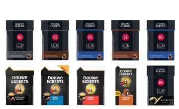 £9.99 instead of £34.99 (from Euro Coffee Pods) for 50 pods of Douve Egberts Nespresso Compatible Capsules - save 71%