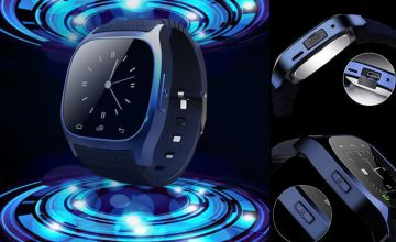 £14.99 instead of £124.99 for an RM26 android smart watch - choose from black or blue from Ugoagogo - save 88%