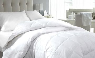 From £23.99 instead of £78.99 (from Groundlevel) for a hotel-quality goose and down duvet - choose from four sizes and save up to 70%
