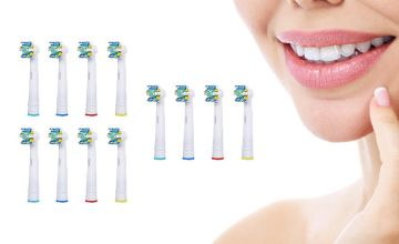 From £4.99 (from Bellap) for a pack of 12 Oral B compatible floss toothbrush heads.